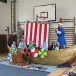 Představení Pernštejnští Vikingové - ZŠ a MŠ Všeruby