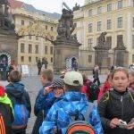 Školní výlet na pražský hrad - ZŠ Všeruby